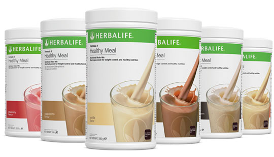 Herbalife Formula 1 is available in seven flavours