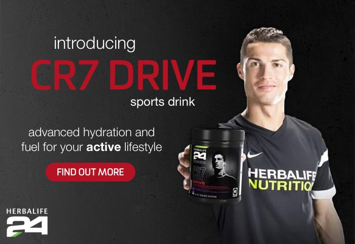 CR7 Drive — advanced hydration and fuel for your active lifestyle